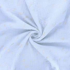 Tissu double gaze de coton Rico Design Transformation F - gris clair x 10cm