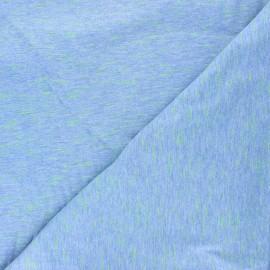 Tissu jersey Rico Design Transformation - bleu x 10cm