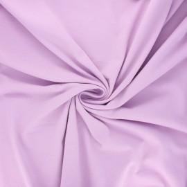 Tissu jersey Bio - lilas x 10cm