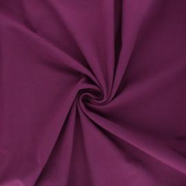 Tissu jersey Bio - prune x 10cm