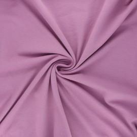 Tissu jersey Bio - parme x 10cm