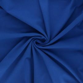 Tissu jersey Bio - bleu roi x 10cm