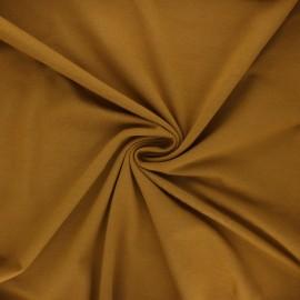 Tissu jersey Bio - ocre x 10cm
