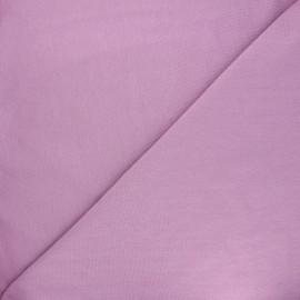 Jersey tubulaire Bio - parme x 10cm