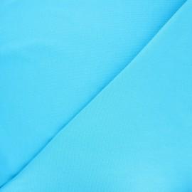 Jersey tubulaire Bio - turquoise x 10cm