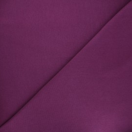 Jersey tubulaire Bio - prune x 10cm