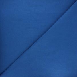 Jersey tubulaire Bio - bleu roi x 10cm