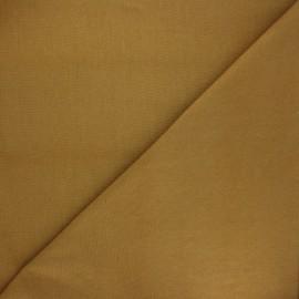 Jersey tubulaire Bio - ocre x 10cm