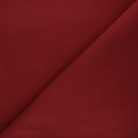 Tissu sweat Mabel - tomette x 10cm