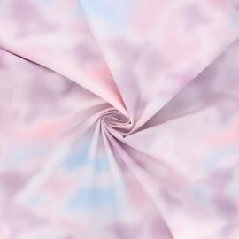 Tissu popeline de coton Rico Design Transformation - violet x 10cm