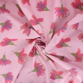 Tissu popeline de coton Rico Design Transformation B - rose x 10cm