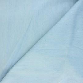 Tissu jeans Babette - bleu clair x 10cm