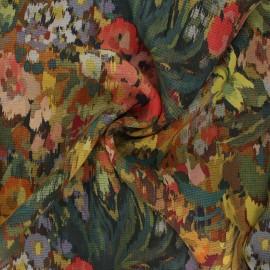 Tissu mousseline crêpe Marion - multicolore x 10cm