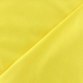 Glossy lycra fabric - yellow x 10cm