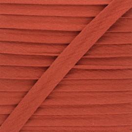 Biais double gaze de coton 20 mm - rouille x 1m