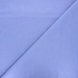 Tissu jersey aspect denim Mabel - lavande x 10cm