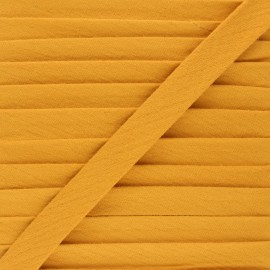 Cotton double gauze bias binding - ochre x 1m