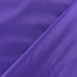 Glossy lycra fabric - purple x 10cm