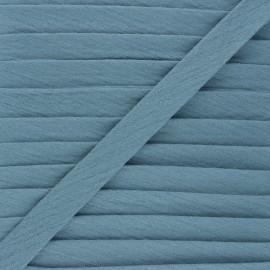 Biais double gaze de coton 20 mm - bleu houle x 1m