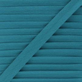 Cotton double gauze bias binding - lagoon x 1m