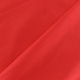 Glossy lycra fabric - red x 10cm