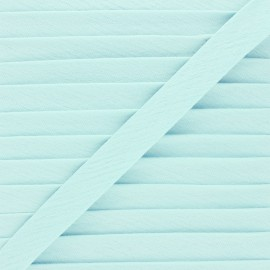 Cotton double gauze bias binding - celadon x 1m