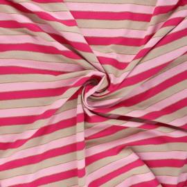 Tissu jersey viscose Brillanti - fuchsia x 10 cm