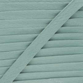 Biais double gaze de coton 20 mm - eucalyptus x 1m