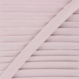 Biais double gaze de coton 20 mm - eau de rose x 1m