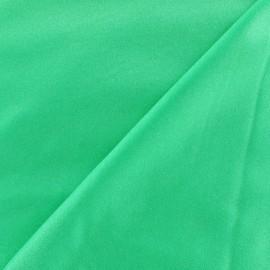 Glossy lycra fabric - fluorescent green x 10cm