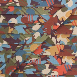 20 mm Liberty bias binding - Autumn Fall A x 1m