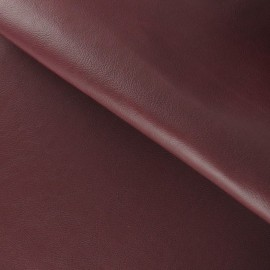 Imitation leather - burgundy x 10cm