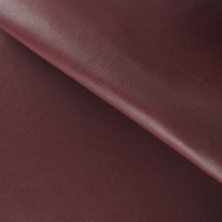 Imitation leather - burgundy x 10cm
