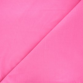 Plain Dashwood corduroy velvet fabric - candy pink x 10cm