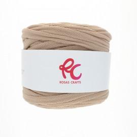 Trapilho quilted yarn - sand beige Pluma