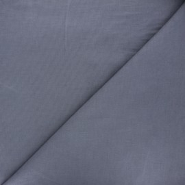 Plain Dashwood corduroy velvet fabric - mouse grey x 10cm