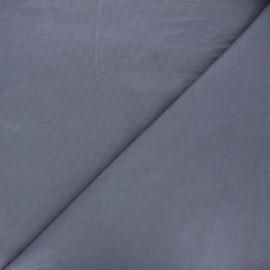 Tissu velours milleraies uni Dashwood - gris souris x 10cm