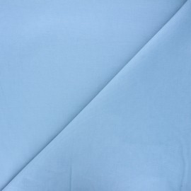 Plain Dashwood corduroy velvet fabric - light blue x 10cm