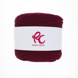 Trapilho quilted yarn - wine Pluma