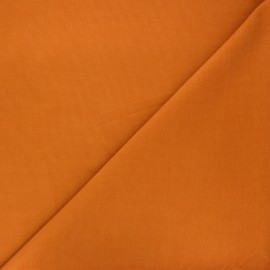 Plain Dashwood corduroy velvet fabric - ginger x 10cm