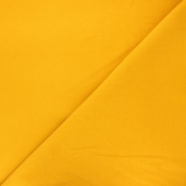 Plain Dashwood corduroy velvet fabric - mustard yellow x 10cm