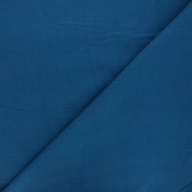 Plain Dashwood corduroy velvet fabric - duck blue x 10cm
