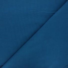 Tissu velours milleraies uni Dashwood - bleu canard x 10cm