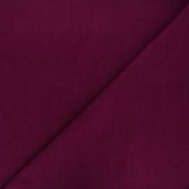 Plain Dashwood corduroy velvet fabric - wine x 10cm