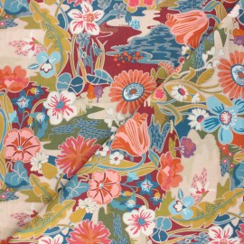 Tissu Liberty - Sunshine Meadow C x 10cm