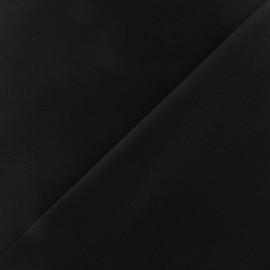 Tissu piqué de coton noir x 10cm