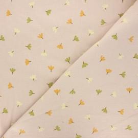 Tissu coton lavé Dulce - sable x 10cm