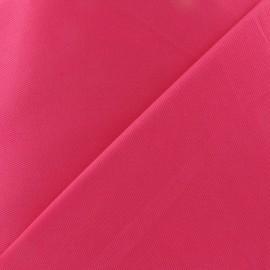 Tissu piqué de coton fuchsia x 10cm