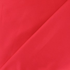 Stitched Cotton Fabric - red x 10cm