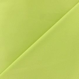Tissu piqué de coton anis x 10cm